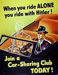 تاریخچه هم ماشین: رانندگی با هیتلر